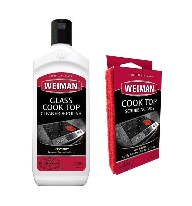 weiman glass stovetop cleaner