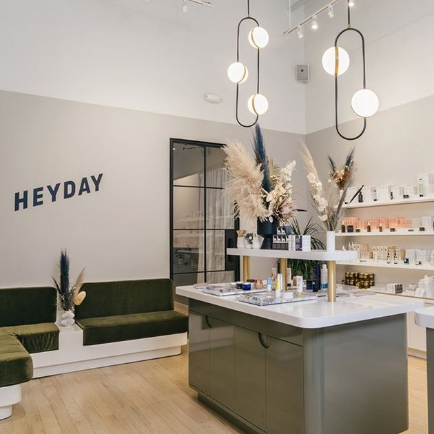 """Inside Heyday, a chain of facial studios that channel the """"millennial aesthetic."""""""