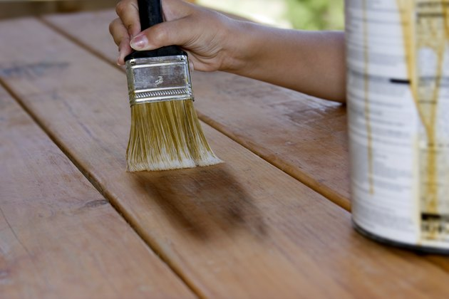 Painting a table