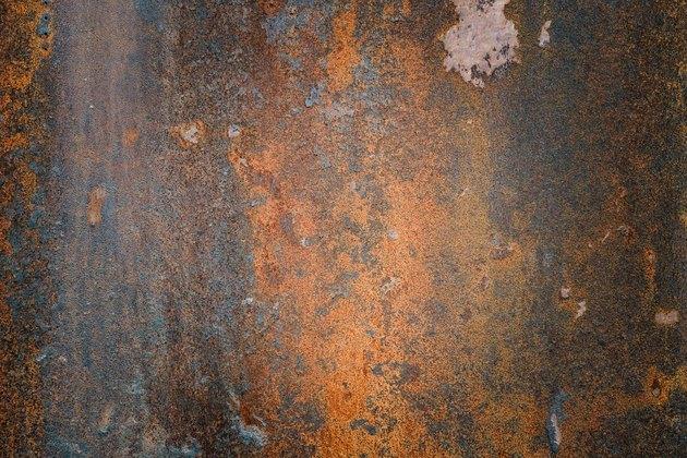 The vintag rusty grunge steel textured background