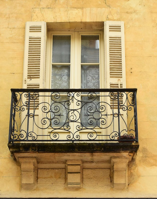 French Balcony.