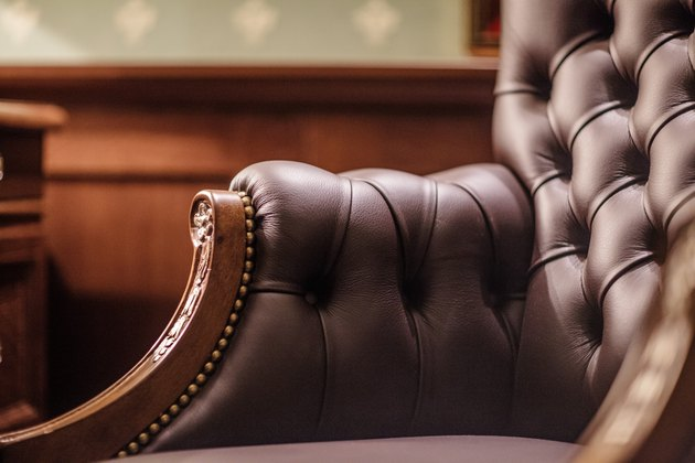 Soft leather chair