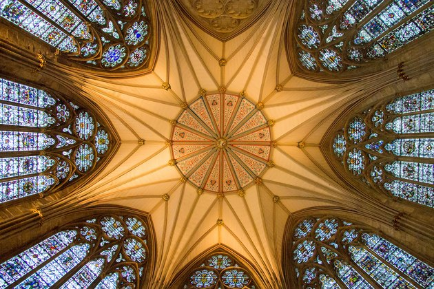 York minster ceiling