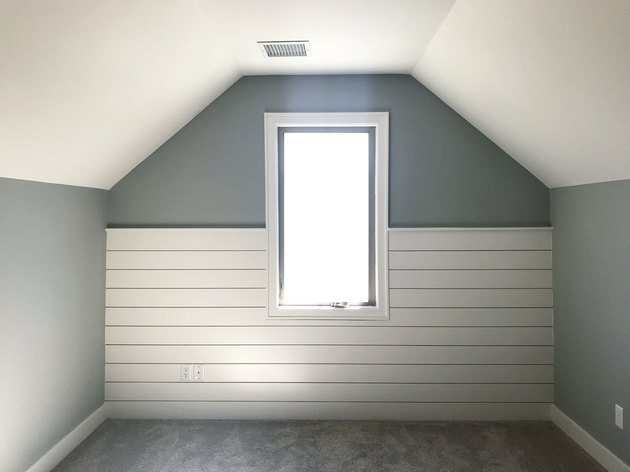 Shiplap Bedroom Nook.