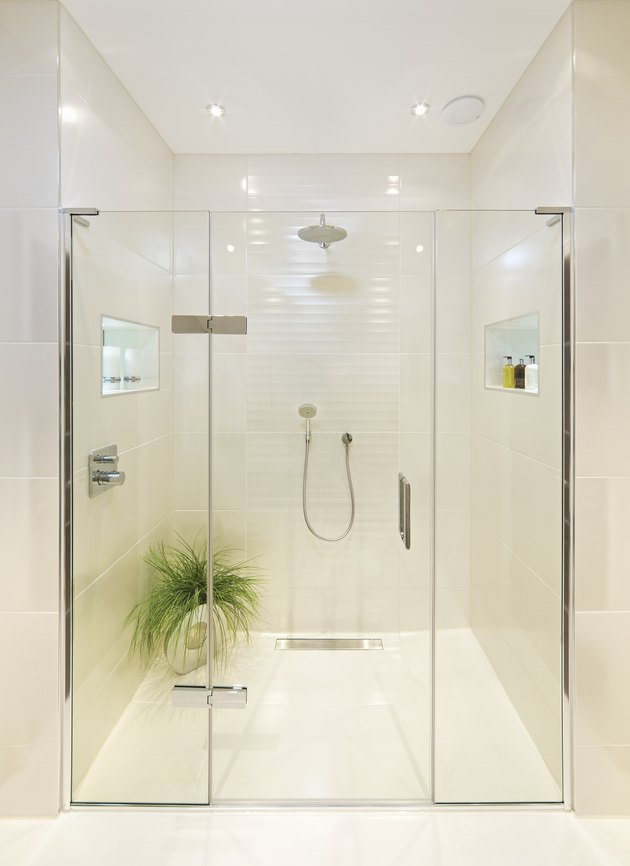 fabulous shower room