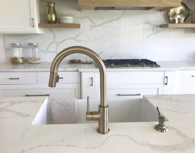 Quartz Marble Kitchen