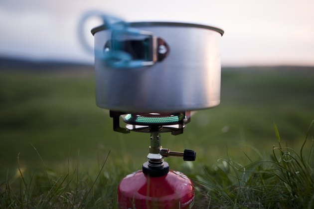 Camping - rechaud à gaz