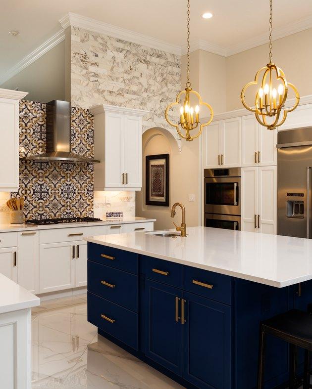 Luxury White Kitchen Design