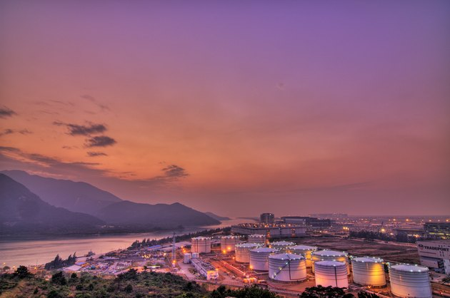 Tung Chung Oil Tanks