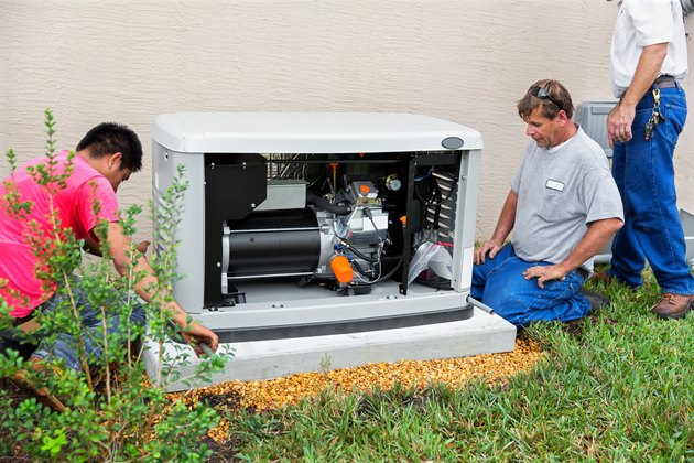 Installing an whole house emergency generator for hurricane season