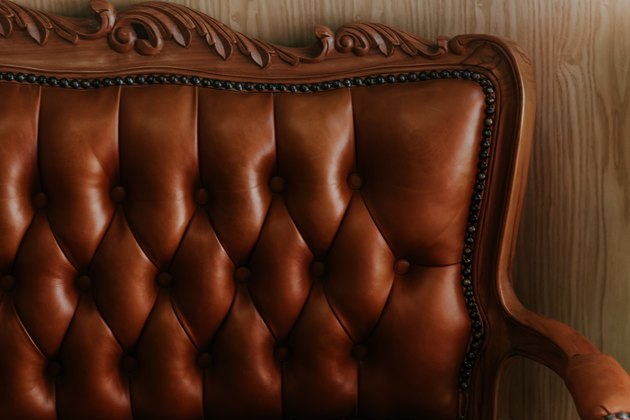 brown classic and vintage chair