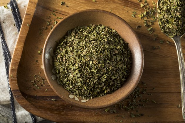 Organic Dry Mint Spice