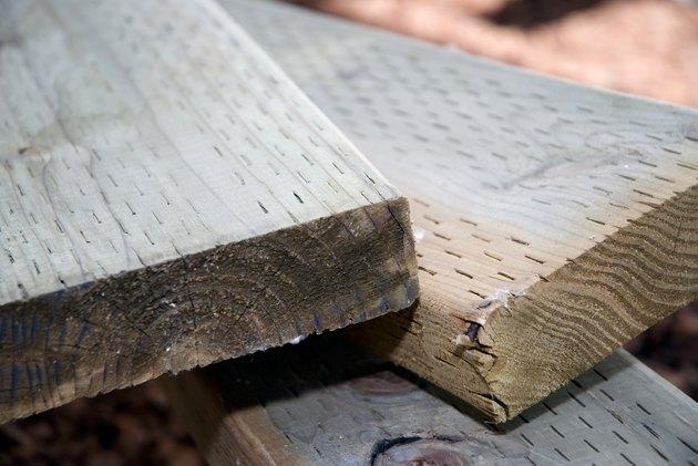 Pressure Treated Wood 4