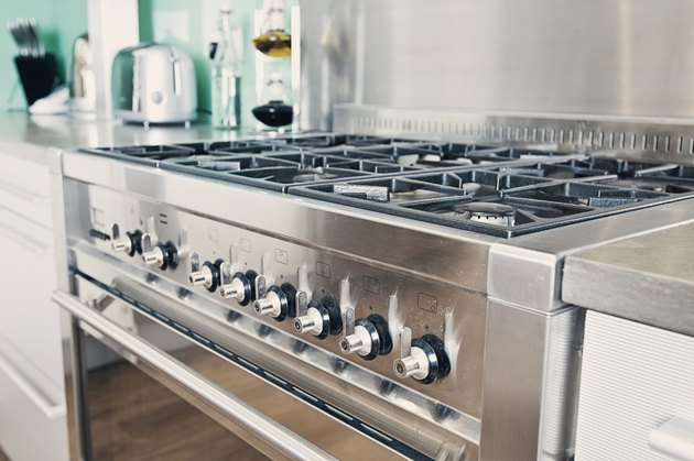 Modern Range Cooker in Kitchen