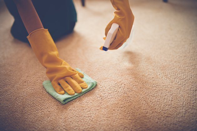 Removing stain