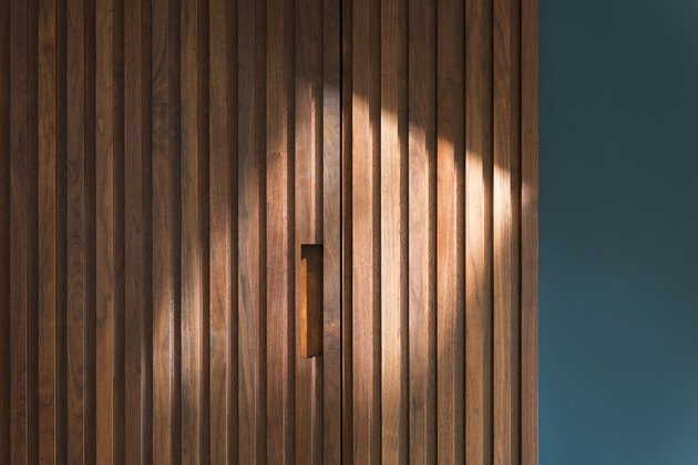 Wooden Panel Cabinet Door By Ocean Blue Wall