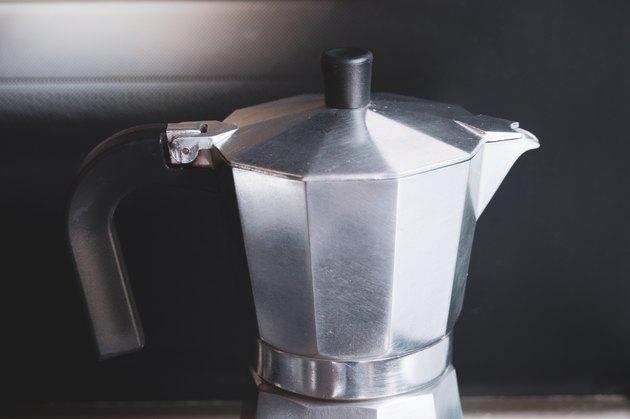 Italian traditional coffee machine