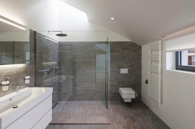 Bathroom of a modern house