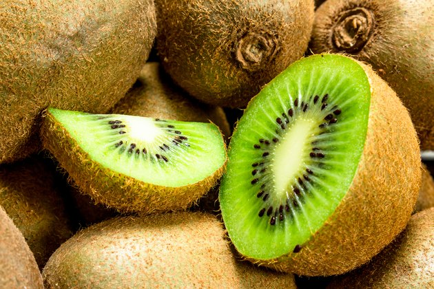 Ripe juicy kiwi.