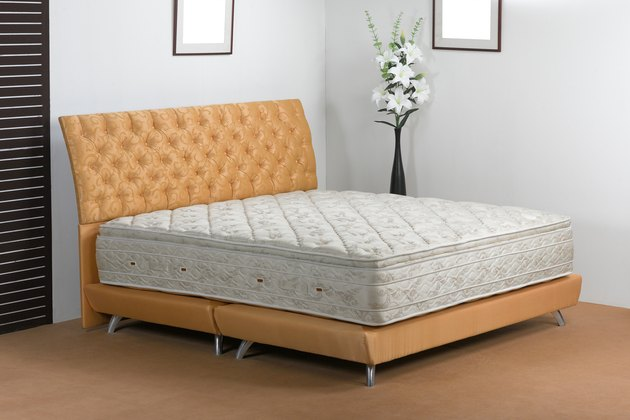 Bedroom atmosphere and mattress spring in studio