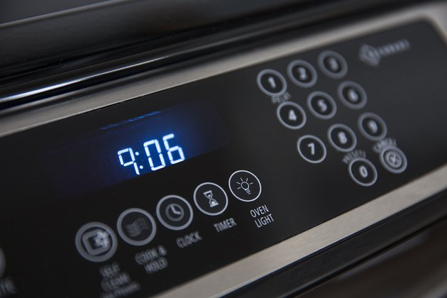 Time on oven