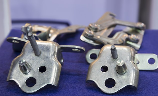 Car hinge and stamping parts