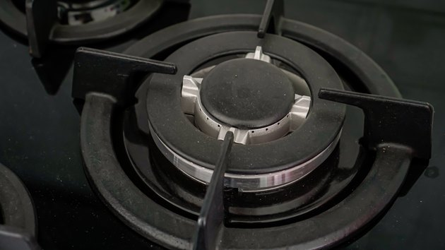 Close Up Gas Stove