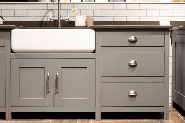 Gray Kitchen Sink