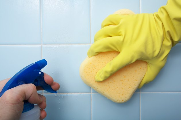 Cleaning House - Scrubbing Tile