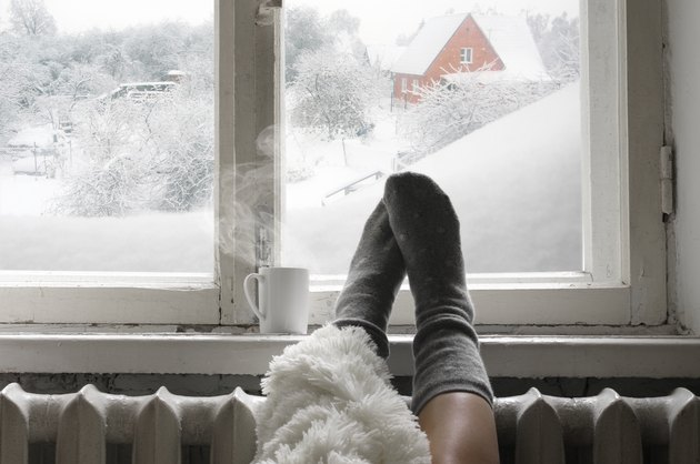 Cozy winter still life.