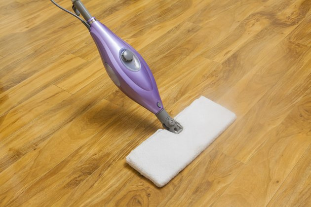 Using a steam mop
