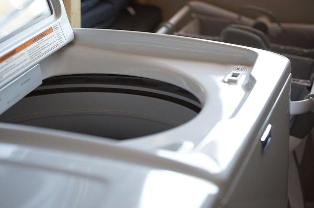 Top-load washing machine.
