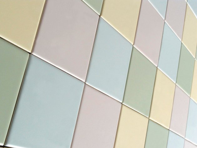 Colorful ceramic tiles.