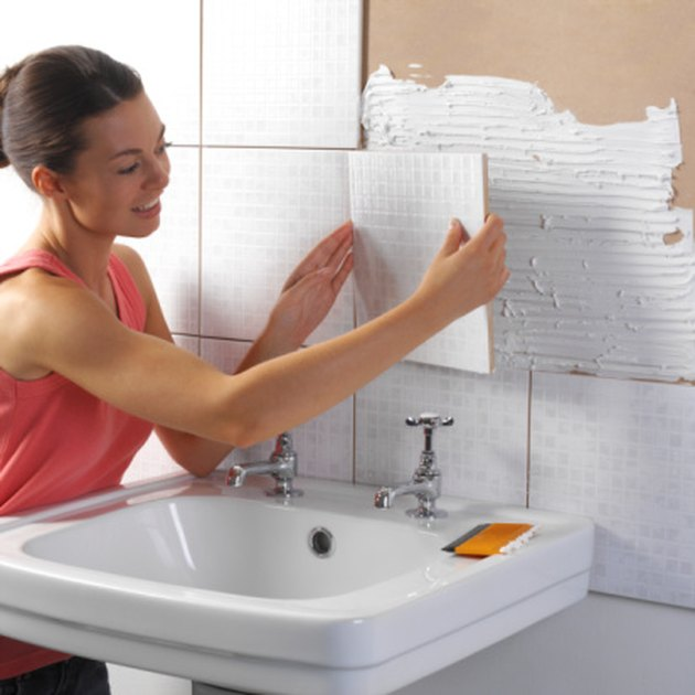 List of Materials for a Bathroom Remodel