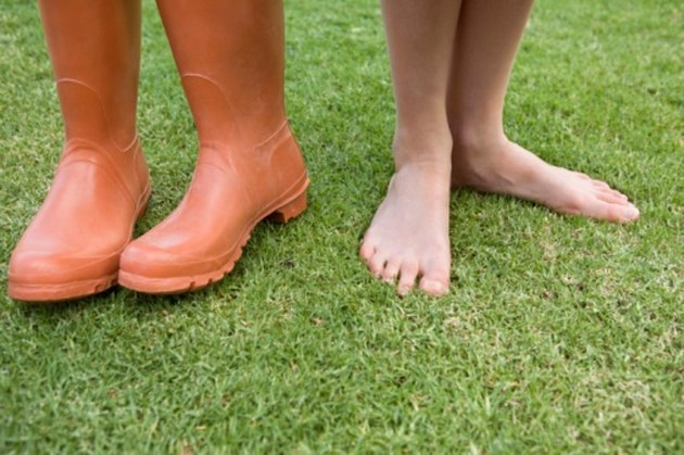 How to Plant Grass Before a Heavy Rain