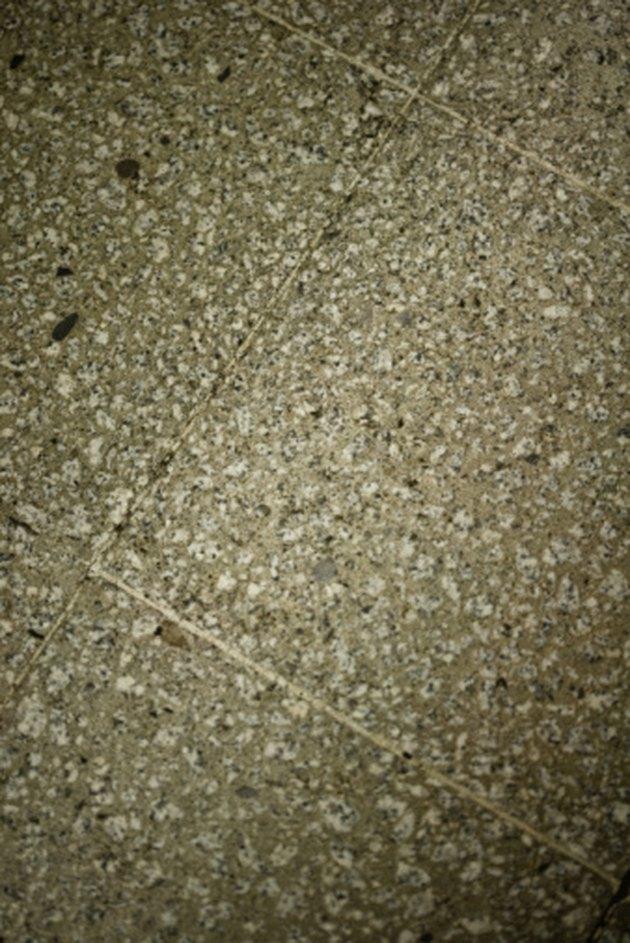 DIY Terrazzo Concrete Formula