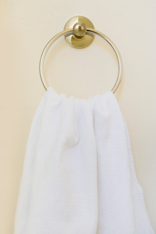 How To Install Towel Rings Hunker