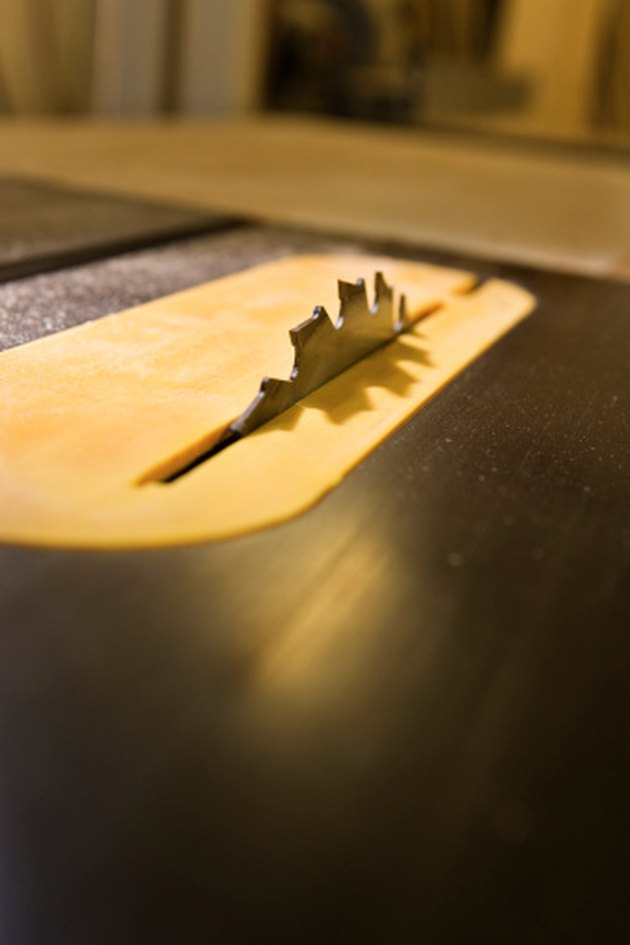 How to Make an Angle Greater Than 45 Degrees on a Table Saw