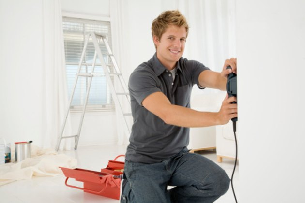 How To Install Vinyl Drywall Quot J Quot Bead Hunker