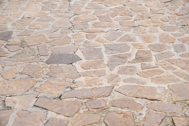 How To Clean Flagstone With Vinegar Hunker