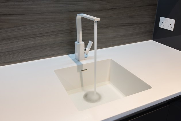 Corian Sink and Worktop.