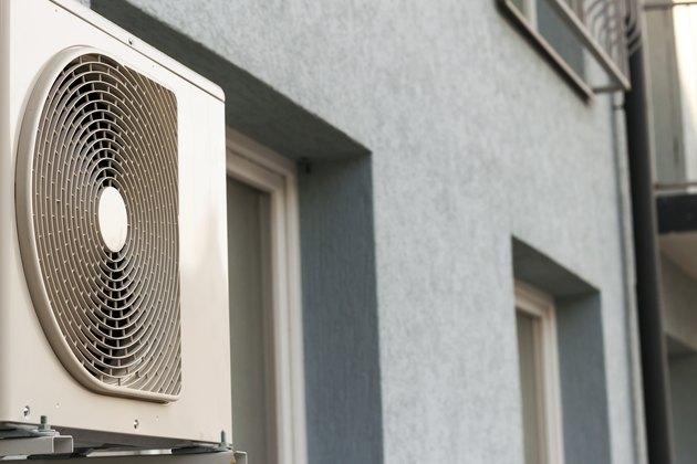 Air conditioner compressor.