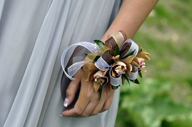 Corsage on Girl's Wrist