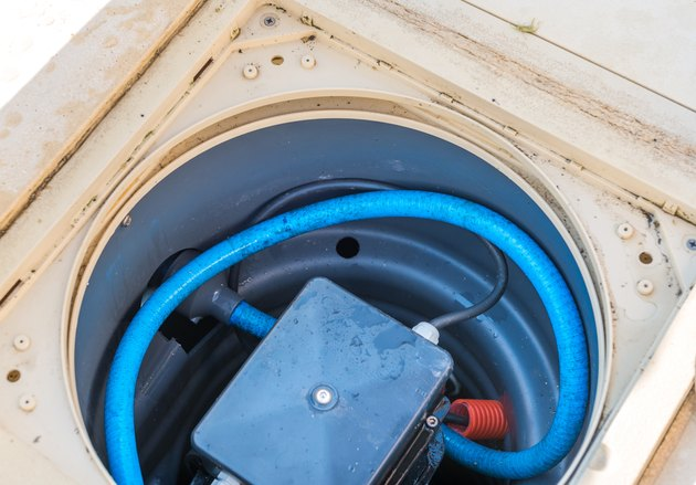 Maintenance of the pumping system of a pool.