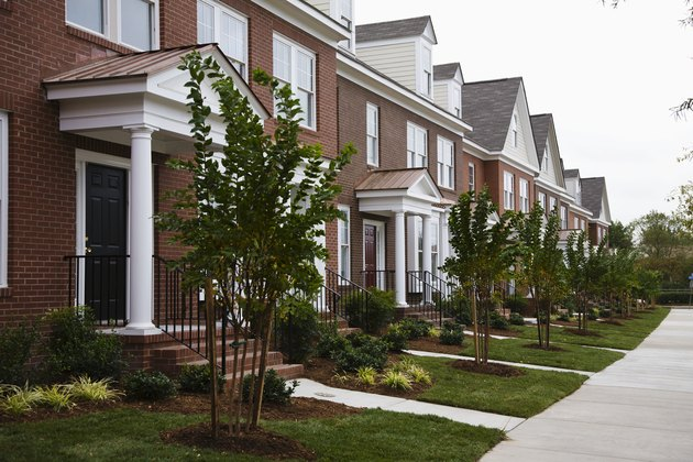 Landscaped Townhomes