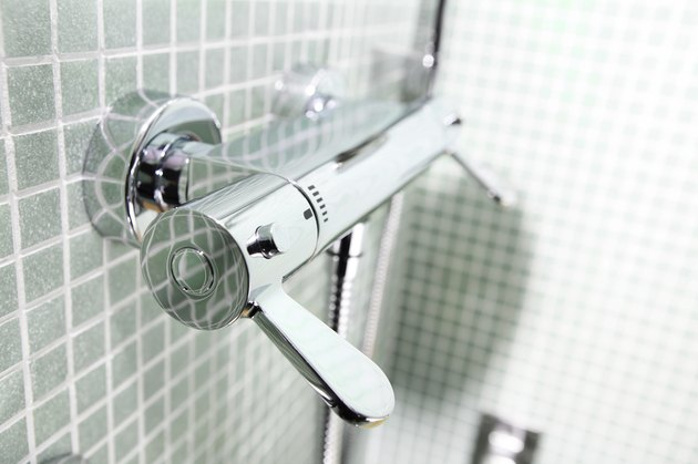 Shower valve handle