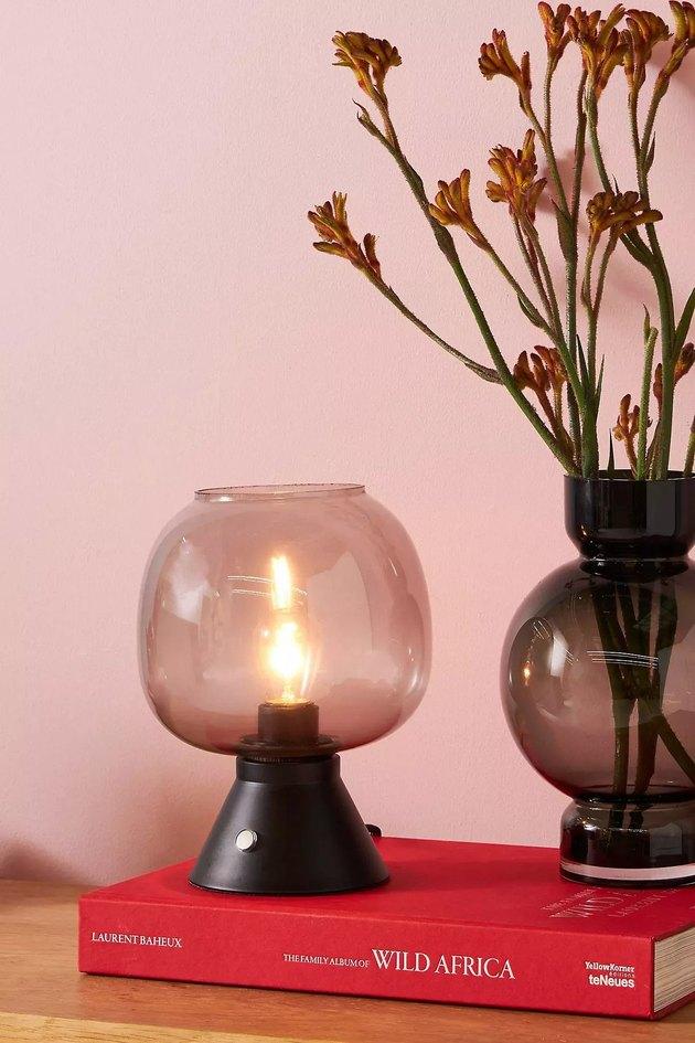 Anthropologie Franklin Table Lantern, $108 ambient lighting