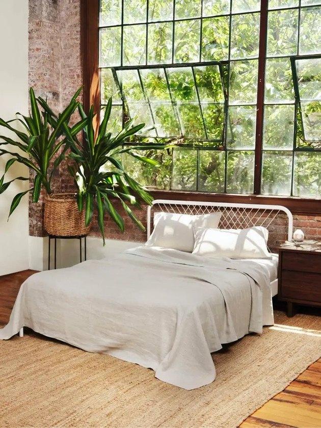 eco-friendly sheets Buffy Hemp Linen Sheets, starting at $249