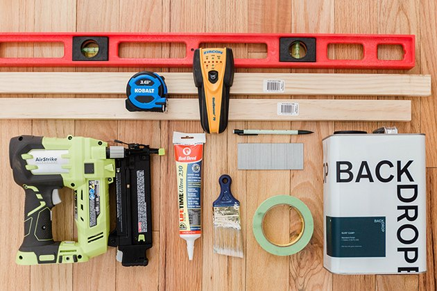 Here's what you'll need to build your board and batten feature wall.