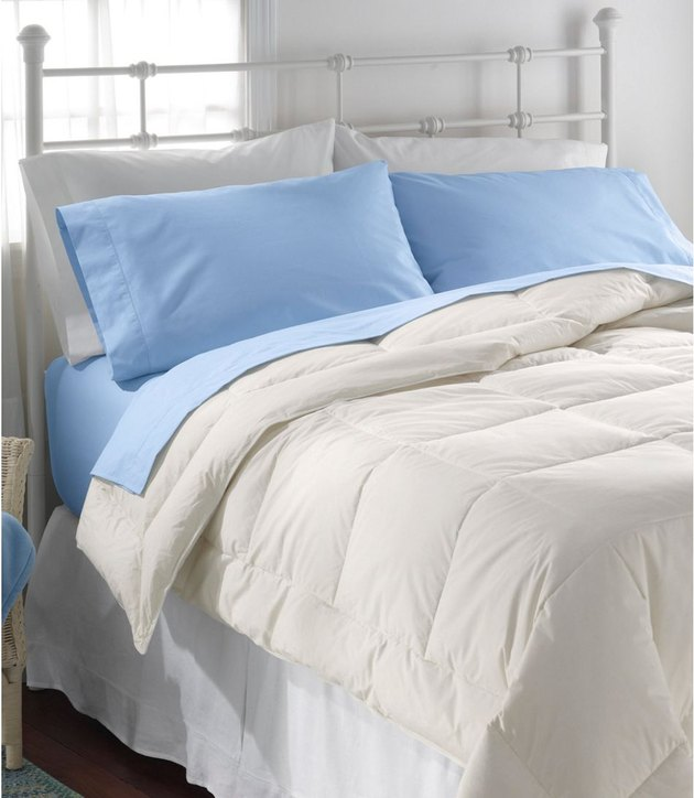 L.L.Bean 280-Thread-Count Pima Cotton Percale Sheet Set